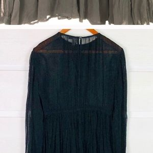 ASOS Maternity Tops - ASOS romantic, flowy, black maternity top.